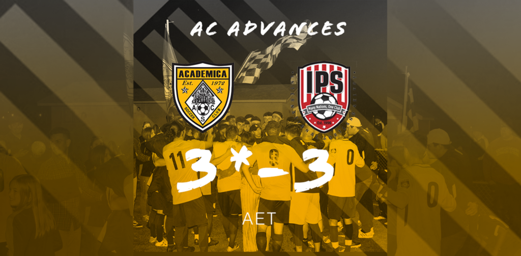 2019 US Open Cup Qualifying: Academica SC uses 3 stoppage time goals to stun IPS, qualify for first time in PKs