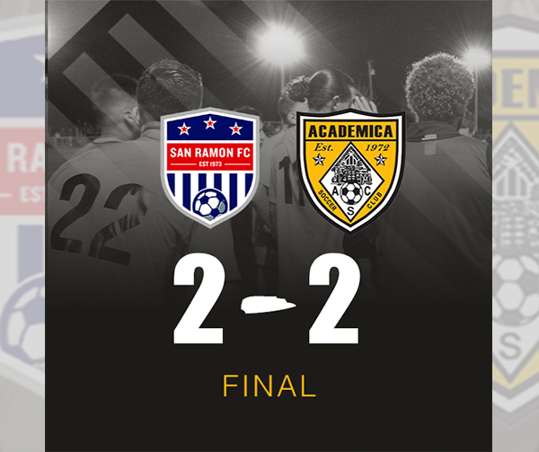 Academica, San Ramon ends in stalemate