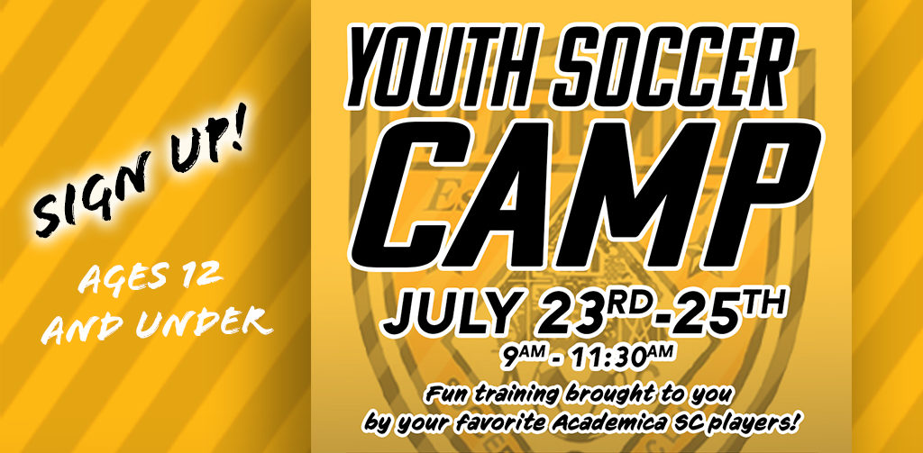 AC YOUTH SOCCER CAMP: SIGN UP!