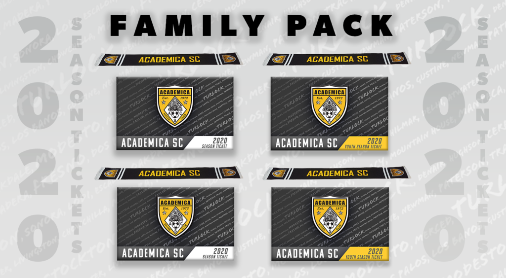 Family Pack Season Tickets